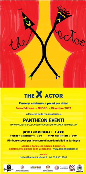 The X Actor locandina verticale