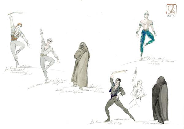 Disegno Di Una Ballerina : Disegni di ballerine di danza classica da colorare e stampare