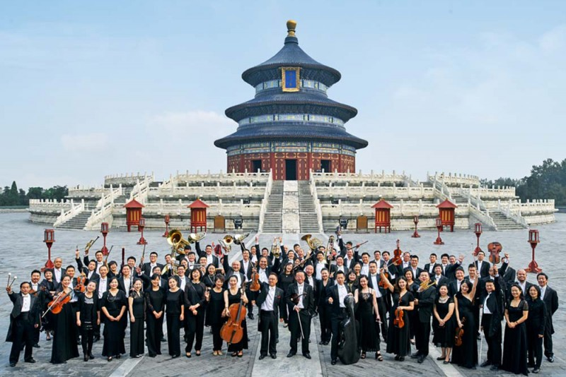 La China National Symphony Orchestra (CNSO). Foto CNSO NCPA China