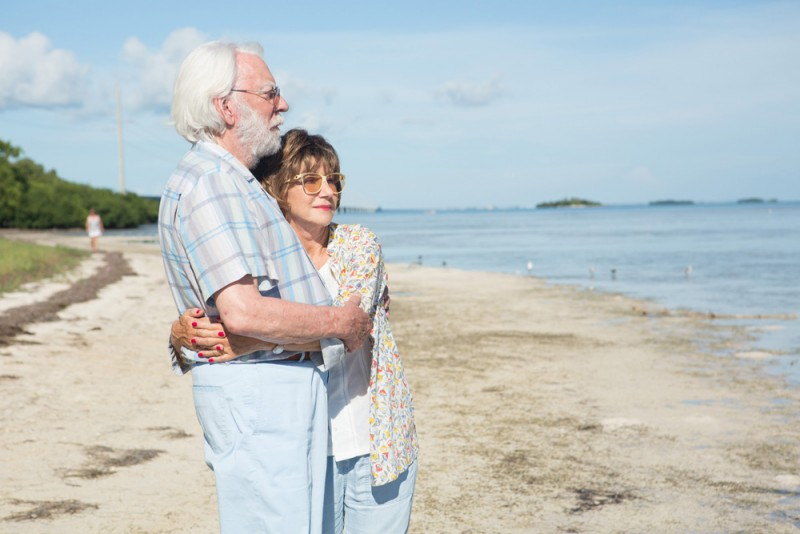 "Helen Mirren e Donald Sutherland in ""Ella & John - The Leisure Seeker"", regia Paolo Virzì"