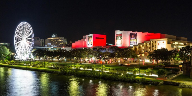 The Queensland Performing Arts Centre (QPAC), South Bank, Brisbane