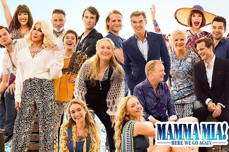 """Mamma Mia: Here We Go Again!"", di Ol Parker"
