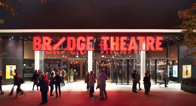 London Theatre Company Bridge Theatre. Foto Philip Vile