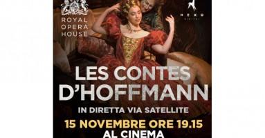 """Nexo Digital è lieta di presentare """"LES CONTES D'HOFFMANN"""" Dal palcoscenico della Royal Opera House in diretta via satellite nei cinema italiani - Martedì 15 novembre alle 19.15"""