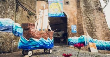 FESTIVAL AD ARTE DI CALCATA, 5° Edizione - E se l'utopia fosse un buon affare? -di Antonio Ferraro