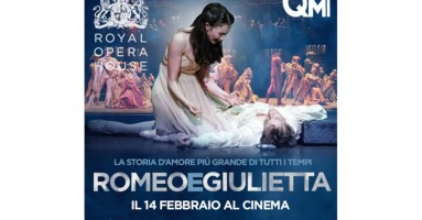 """""""Romeo e Giulietta"""", coreografia Kenneth MacMillan DAL ROH, LONDRA - in 80 sale cinematografiche in tutta Italia, 14 Febbraio 2015"""