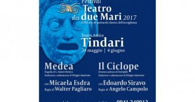 """Tindari, dal 24 maggio al 4 giugno - Torna il """"Teatro dei Due Mari"""": il dramma dell'immigrazione riletto attraverso i miti di ieri"""