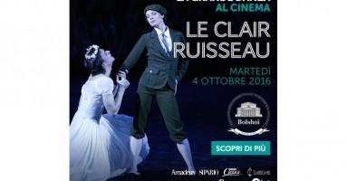 Da martedì 4 ottobre il meglio del balletto è nelle sale italiane distribuito da QMI/Stardust con la nuova stagione dal Bolshoi