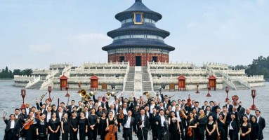 La China National Symphony Orchestra CNSO in Concerto di Gala a Pechino