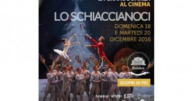 """Martedì 20 dicembre nelle sale di tutta Italia, distribuito da QMI/Stardust.  Dal Bolshoi di Mosca arriva al cinema """"Lo Schiaccianoci"""""""