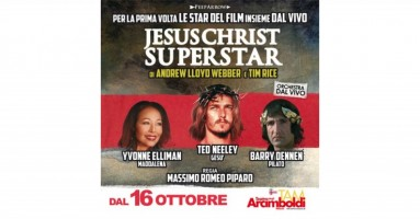 "MILANO - ""Jesus Christ Superstar"" al Teatro Arcimboldi dal 16 ottobre al 2 novembre"