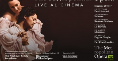 THE METROPOLITAN OPERA - STAGIONE 2016-2017 AL CINEMA