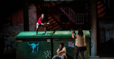 "NAPOLI TEATRO FESTIVAL ITALIA 2019 - ""Kanata - Episode I - La Controverse"", regia Robert Lepage. -di Gigi Giacobbe"