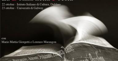 """""""La Contemporanea"""" debutta a Dublino con """"La donna nella Poesia"""" per il progetto """"Conoscere"""""""