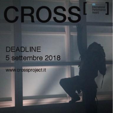 BANDO CROSS Award 2018 – IV edizione - DEADLINE 5 SETTEMBRE 2018