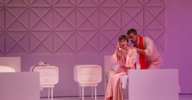 VOIX HUMAINE (LA), CAVALLERIA RUSTICANA - regia Emma Dante