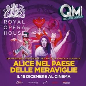 """""""Alice nella paese delle meraviglie"""" IN DIRETTA DAL ROH, LONDRA - in 80 sale cinematografiche in tutta Italia, Martedì 16 dicembre 2014"""