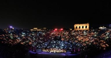"96° ARENA DI VERONA OPERA FESTIVAL - ""Verdi Opera Night"" - di Federica Fanizza"
