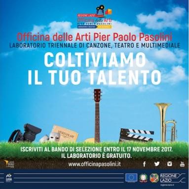 L'Officina delle Arti Pier Paolo Pasolini diventa triennio con un'offerta più ampia che mai - è online il nuovo bando di ammissione - è online il nuovo bando di ammissione