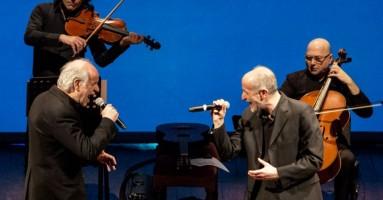 PAROLA CANTA (LA) - con Peppe e Toni Servillo