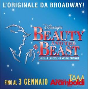 Beauty and the Beast - L'originale Musical firmato DISNEY a MILANO, Teatro Arcimboldi dal 10 dicembre