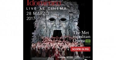"""Martedì 28 marzo alle 19.30 in alta definizione nei cinema italiani distribuito da QMI/Stardust Arriva al cinema """"Idomeneo"""", il capolavoro di Mozart dal Metropolitan Opera di New York"""