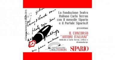 Concorso Autori Italiani 2015 - RINVIATO AL 30 SETTEMBRE 2015
