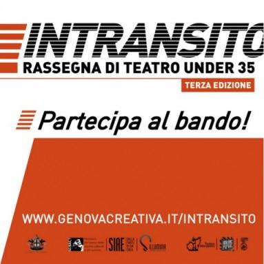 INTRANSITO: Rassegna di teatro emergente under 35 - bando di partecipazione, 3a edizione