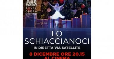 """Nexo Digital è lieta di presentare """"LO SCHIACCIANOCI"""" Dal palcoscenico della Royal Opera House in diretta via satellite nei cinema italiani - Giovedì 8 dicembre alle 20.15"""