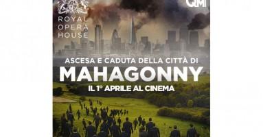ASCESA E CADUTA DELLA CITTA' DI MAHAGONNY - La fervente critica al consumismo di Bertolt Brecht e Kurt Weill IN DIRETTA 1 Aprile 2015 - ore 20.15 in 80 sale cinematografiche in tutta Italia