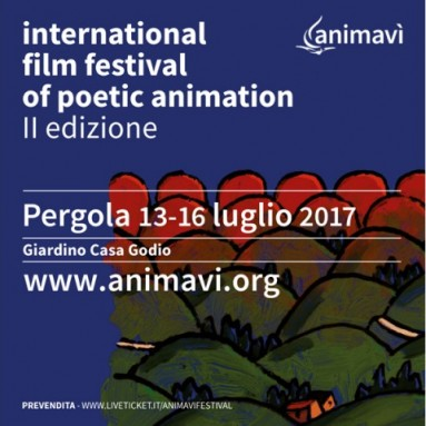 Pergola (PU) – 12/ 16 luglio 2017: Festival Internazionale del Cinema d'animazione poetico - seconda edizione