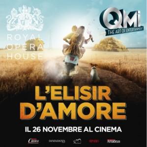 """""""L'Elisir d'amore"""" IN DIRETTA DAL ROH, LONDRA - in 80 sale cinematografiche in tutta Italia, Mercoledì 26 novembre 2014"""