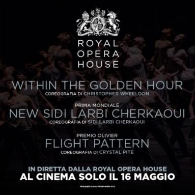 Il balletto contemporaneo arriva nelle sale italiane TRIPLE BILL DEL ROYAL BALLET in diretta via satellite nei cinema italiani il 16 maggio alle ore 20.15