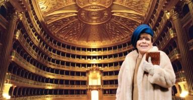 FRANCA VALERI al Teatro Palladium, ROMA - domenica, 26 ottobre 2014