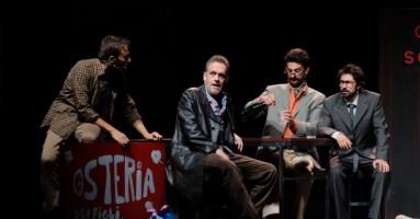 """FESTIVAL TEATRALE DI BORGIO VEREZZI 2019 - """"I DUE GEMELLI ...VENEZIANI"""", regia Jurij Ferrini. -di Roberto Trovato"""
