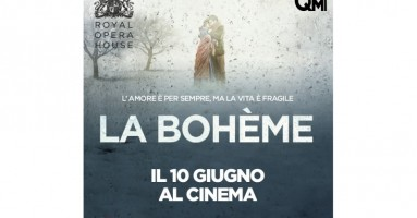 LA BOHÈME - il celebre classico di Puccini per l'ultima volta in scena con una spettacolare Anna Netrebko IN DIRETTA AL CINEMA dalla ROYAL OPERA HOUSE di LONDRA mercoledì 10 GIUGNO ORE 20,15 in 80 sale cinematografiche in tutta Italia