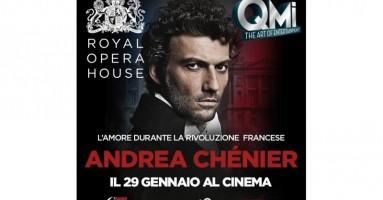 """""""Andrea Chénier"""" IN DIRETTA DAL ROH, LONDRA - in 80 sale cinematografiche in tutta Italia, Giovedì 29 gennaio 2015 - ore 20.15"""