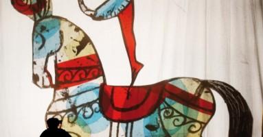 GEK TESSARO  presenta  IL CIRCO DELLE NUVOLE di e con Gek Tessaro - PINEROLO, 9 novembre