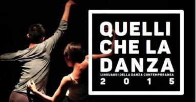 Quelli che la danza - Linguaggi della danza contemporanea. Teatro Nuovo di Napoli dall'8 al 12 Aprile 2015