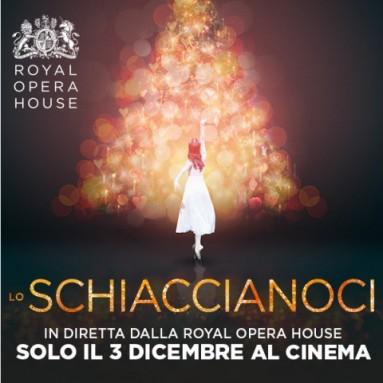 """""""LO SCHIACCIANOCI"""" -  Dal palcoscenico della Royal Opera House in diretta via satellite nei cinema italiani - Lunedì 3 dicembre, ore 20.15"""