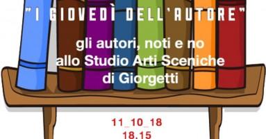 """""""I GIOVEDÌ DELL'AUTORE"""" - a partire dal 27 settembre, ore 18.15, presso Sipario Studio Arti Sceniche, Milano"""