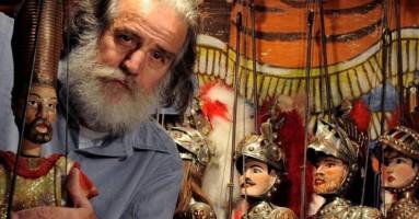 TRADIMENTO DI GANO E MORTE DEL GIGANTE GATTAMUGLIERE - regia Mimmo Cuticchio