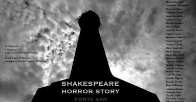"""Shakespeare horror story"" di Daniele Gonciaruk al Forte San Salvatore, Messina.-a cura di Gigi Giacobbe"