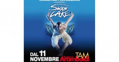 MILANO - MATTHEW BOURNE'S SWAN LAKE fa il suoTRIONFALE RITORNO. Dal 11 al 23 novembre al Teatro degli Arcimboldi.