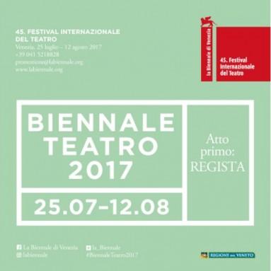 La Biennale di Venezia - Teatro 2017