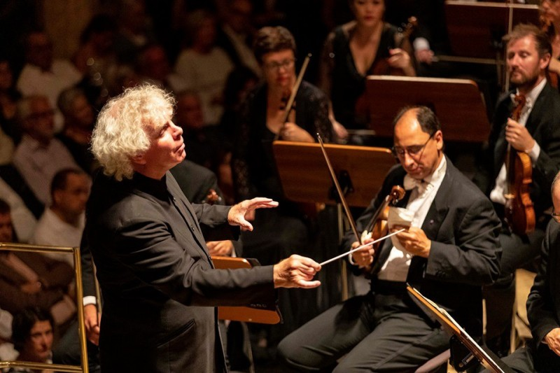 Simon Rattle e la London Symphony Orchestra