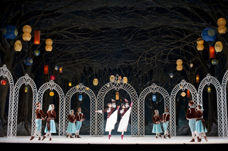 """Les Patineurs"". Artists of The Royal Ballet. Foto ROH, Bill Cooper, 2010"