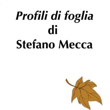 """(RACCONTA UNA STORIA) - """"PROFILI DI FOGLIA"""" di Stefano Mecca"""