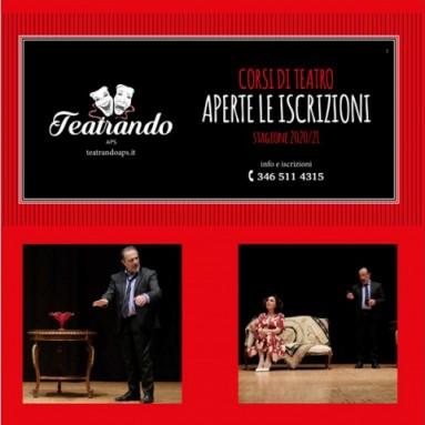 """""""TEATRANDO"""" di Grottaglie (Taranto) - Corsi di TEATRO dal 12 settembre nella nuova sede"""