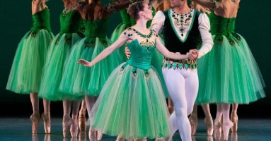 """Emeralds"" – primo atto di ""Jewels"", di G. Balanchine. (IN STREAMING) -di Francesca Myriam Chiatto"